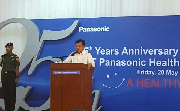Kemenperin Peresmian Produksi Alat Ukur Darah Dan Pearayaan Ulang Tahun Ke 25 Pt Panasonic Healthcare Indonesia