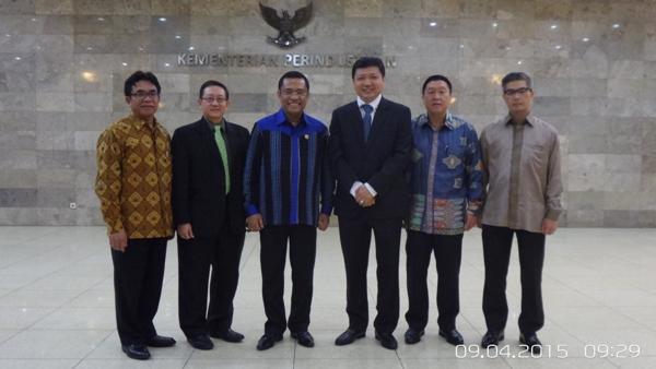 Kemenperin: Menteri Perindustrian menerima Dirut PT Sritex